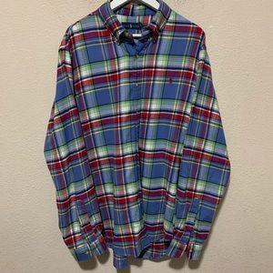 Ralph Lauren XL Plaid Flannel Button Down Shirt